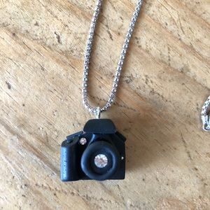 Jewelry - Cannon Camera Necklace